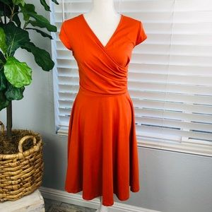 NWT COMFY ORANGE DRESS